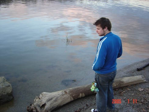 Me by the river